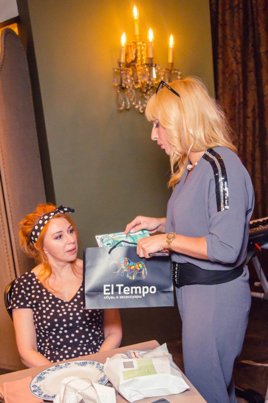 Бренд El tempo предоставила подарки на дне рождения Виктории Пьер-Мари 12