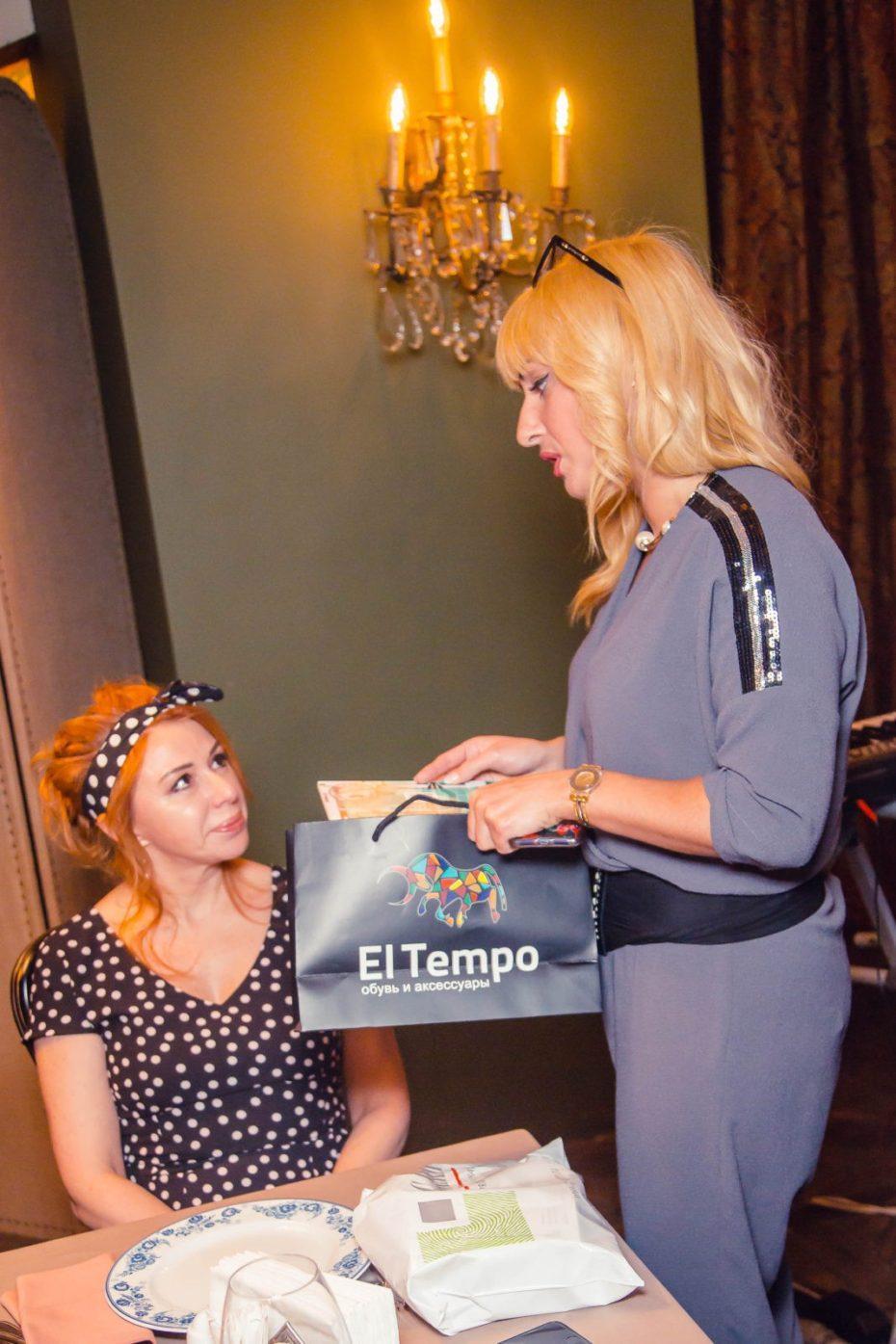 Бренд El tempo предоставила подарки на дне рождения Виктории Пьер-Мари 13