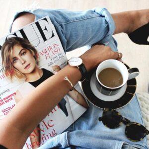 размещение в Vogue